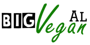 The main Big Vegan Al website header logo